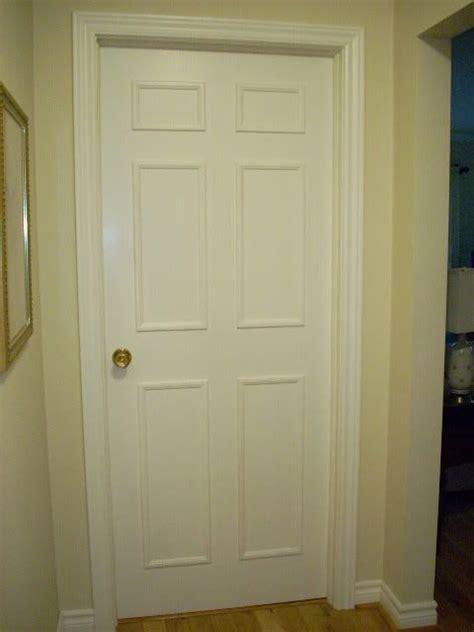 Add Moulding To Door by Add Moulding To Hollow Doors Make Doors Look