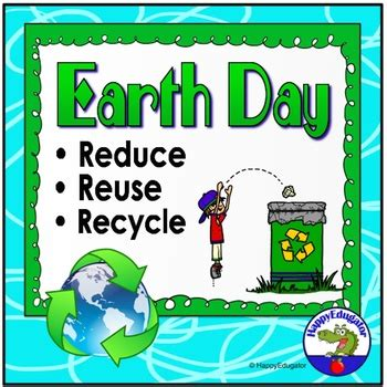 Earth Day Reduce Reuse Recycle Powerpoint By Reduce Reuse Recycle Ppt