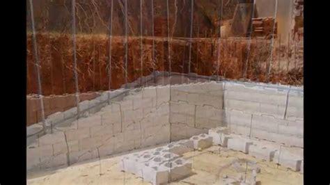 Fondation Mur De Soutenement 5008 by R 233 Alisation D Un Mur De Sout 232 Nement