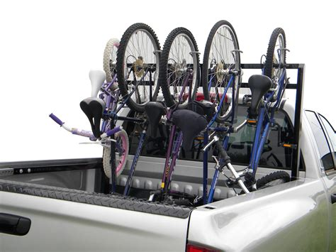 bike rack for pickup bed remprack introduces pickup bed bike rack for 2011 season