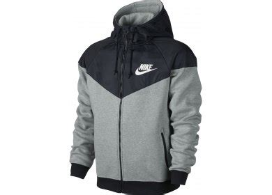 nike veste windrunner fleece mix m pas cher v 234 tements
