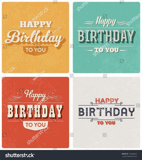 happy birthday retro design retro birthday cards gangcraft net