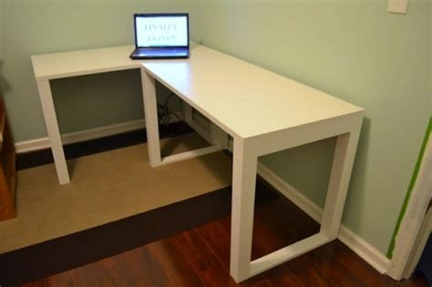 Diy Desk Build diy corner desk ikea 187 woodworktips