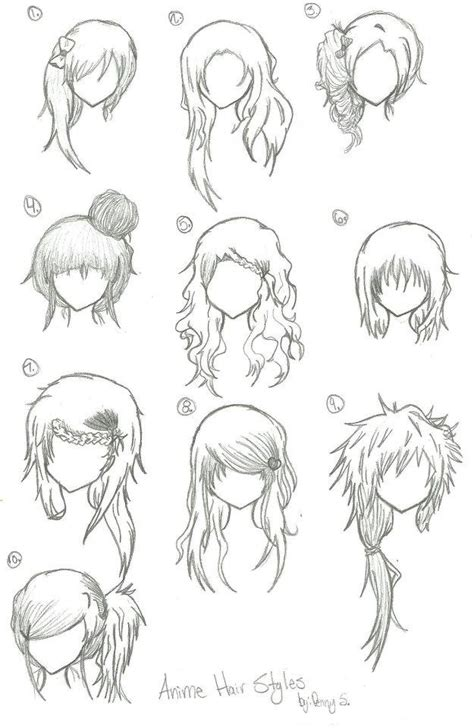 anime hairstyles ponytails anime hair styles by animebleach14 on deviantart