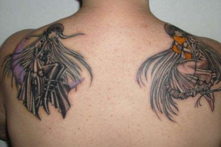 good and bad tattoo designs 25 best ideas about and evil tattoos on