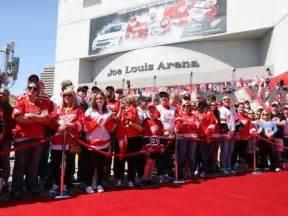 detroit red wings fan pack red wings greats return remember joe louis arena one last