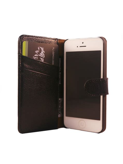 Original Leather Flip Cover Wallet Iphone 5 5s Se 6 6s 6 7 7 flip wallet genuine yak leather cover for iphone 5 5s black futurocks