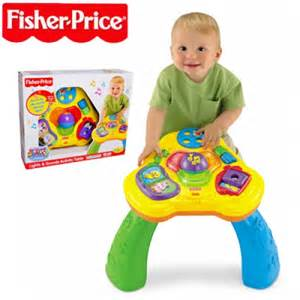 fisher price tisch new fisher price brilliant basics lights and sounds