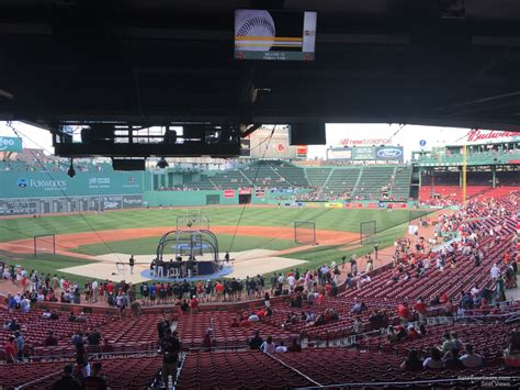 section 20 a fenway park grandstand 20 rateyourseats com