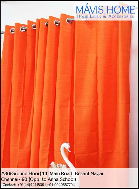 bright orange curtains 17 best images about flowing curtains on pinterest