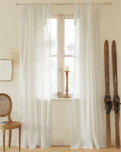 vorhang weiß baumwolle vorhang wei 223 auf wei 223