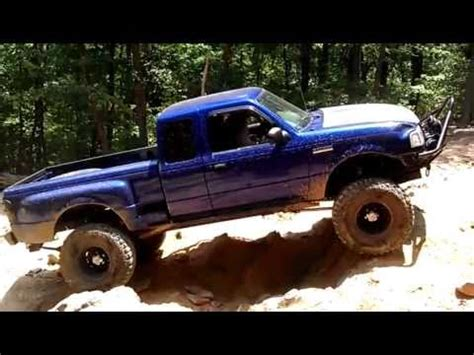 jacked up ford ranger ford ranger at uwharrie