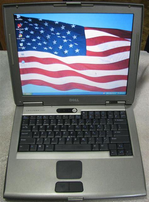 Laptop Dell Latitude D505 dell latitude d505 business laptop 1 5ghz 512mb dvd 30gb windows xp wifi