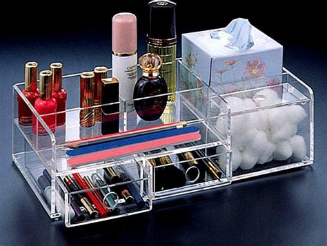 Rak Kosmetik Simple more makeup organizer ideas for a tidy display of