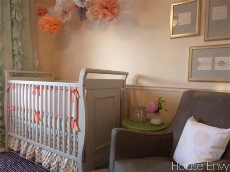 Coral And Navy Nursery by Quinn S Coral Mint And Navy Nursery Project Nursery