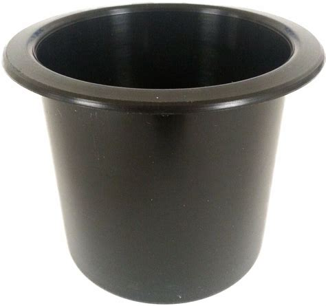 With Cup Holders by Black Plastic Cup Holder Boat Rv Car Truck Insert Regular