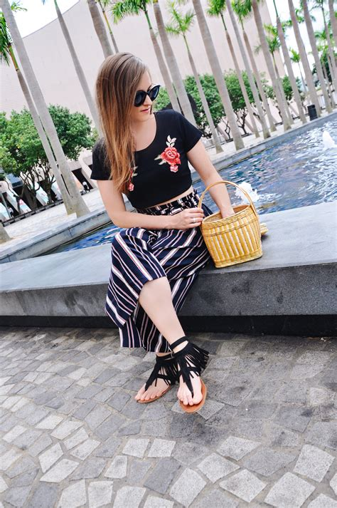 Handmade Shoes Hong Kong - flowers and stripes in hong kong strawberries n chagne