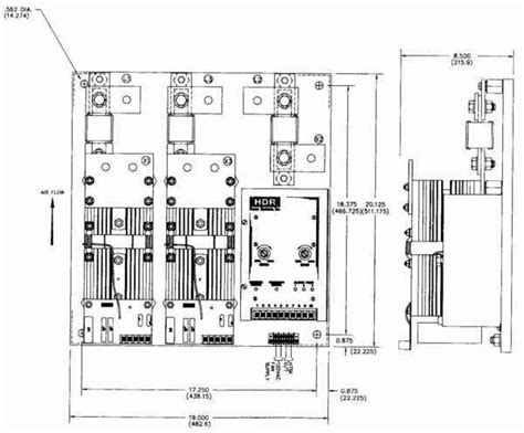 zf2 this layout zf2 scr power control three phase two leg 350 500a