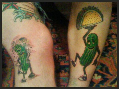 pickle tattoo designs pickle tattoos food tattoos pickling