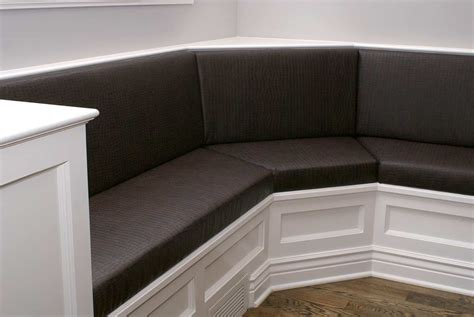 custom upholstery banquettes  comfortably enhance home