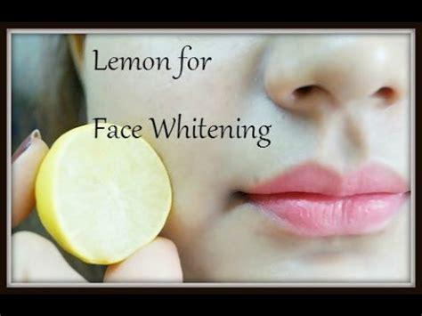 Foe 2 Whitening Day how to whiten skin with lemon