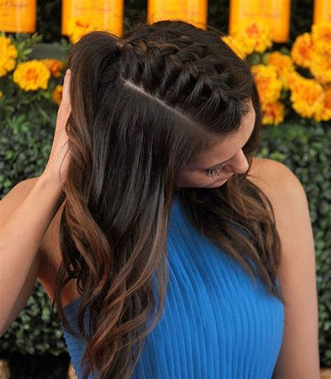 how to park braids braids top knot and loose french braids on pinterest