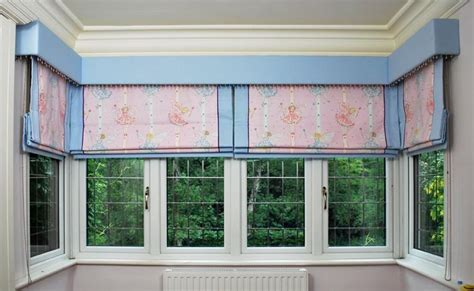 box bay window treatments bay window with roam blinds box pelmet window