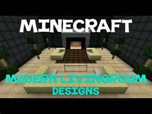 minecraft modern living room designs youtube