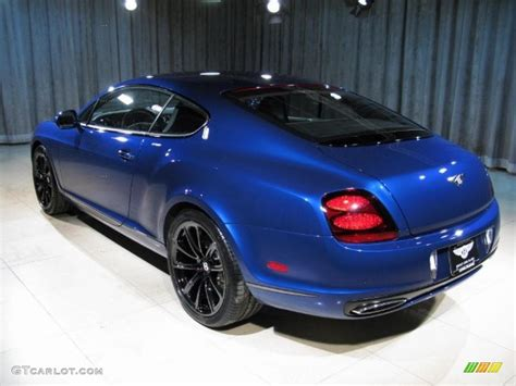 bentley blue 2010 bentley continental supersports blue 200 interior