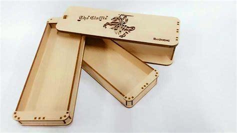 cara membuat zipper pencil case south korea diy stationery case wooden student create