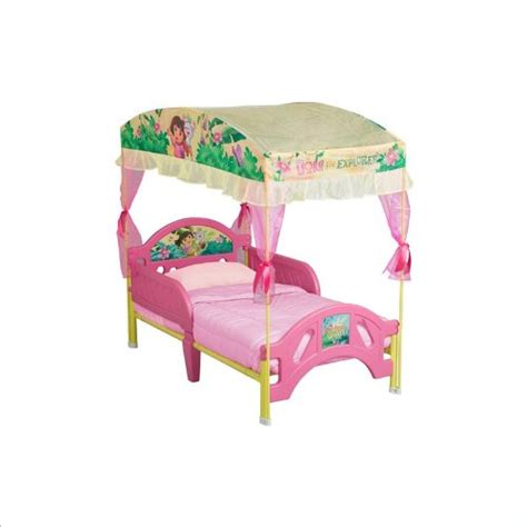 dora the explorer toddler bed canopy beds for girls dora the explorer toddler bed with