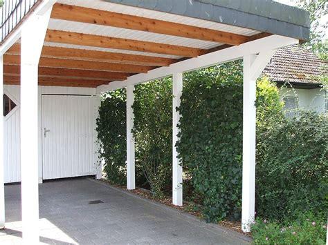 Carport Mit überdachung Des Eingangs by Blickdichte Carport Begr 252 Nung Mit Drahtseilen