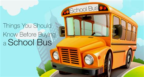 things you should know before buying a house things you should know before buying a school bus