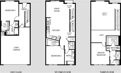 garage loft floor plans central park west irvine ca flats lofts townhomes towers