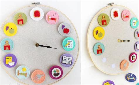 Diy Lukisan Warna Warni 50 diy clock ideas rilane