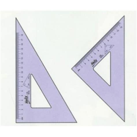 Set Square helix set squares 26cm 45 degree set square at jr bourne