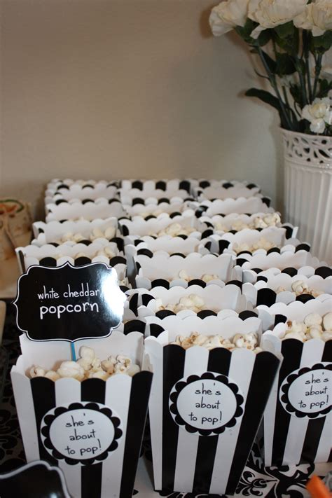 Black And White Themed Baby Shower by Black And White Baby Shower Baby Shower Ideas