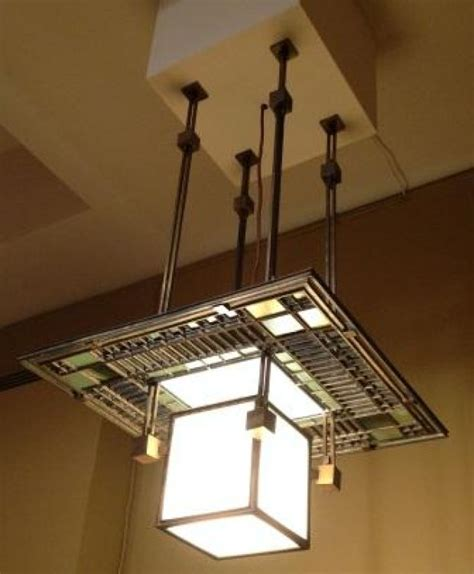 Frank Lloyd Wright Lamp by Ceiling Lamp By Frank Lloyd Wright Being Purchased By The