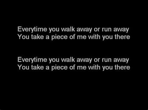 lincoln hawk everytime you walk away lincoln hawk everytime lyrics