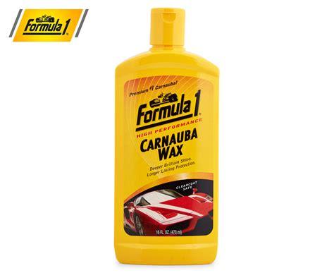 Carnauba Wash And Wax 473 Ml Formula 1 formula 1 carnauba wax 473ml ebay