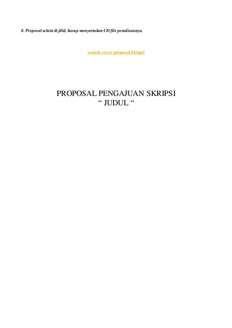 format pengajuan judul skripsi proposal pengajuan judul skripsi