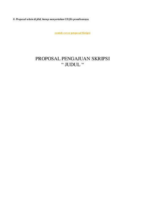 format proposal pengajuan judul skripsi proposal pengajuan judul skripsi