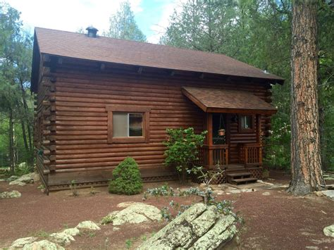 Cabins For Rent In Payson Az by Cozy Streamfront Cabin Nestled In The Pines Vrbo