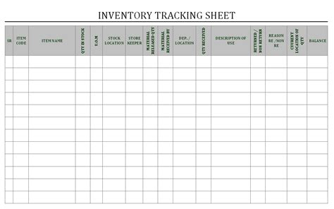 Free Inventory Tracking Spreadsheet by Best Photos Of Inventory Tracking Sheet Inventory