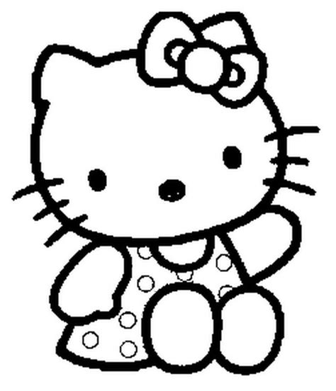 imagenes kitty para dibujar mi colecci 243 n de dibujos kitty para colorear