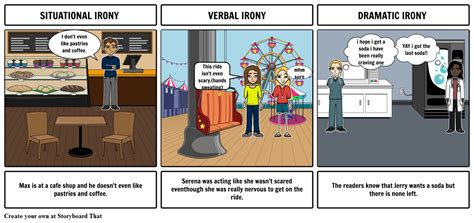 irony exles storyboard by gloriagarcia28030