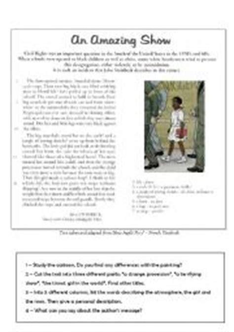 Ruby Bridges Worksheets by Teaching Worksheets Ruby Bridges