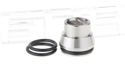 F01 Authentic Ud Huracan L3 Wide Bore Spiral Drip Tip Rda Rta Dript 6 19 authentic youde ud huracan l4 wide bore spiral drip tip 304 stainless steel 19 5mm