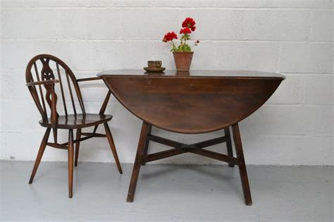 ercol drop leaf finish kitchen dining table ebay