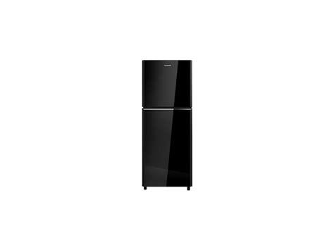 Kulkas Panasonic Nr B229s electronic city panasonic refrigerator 2 door black nr